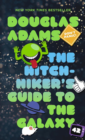 hitchikers guide to the galaxy book